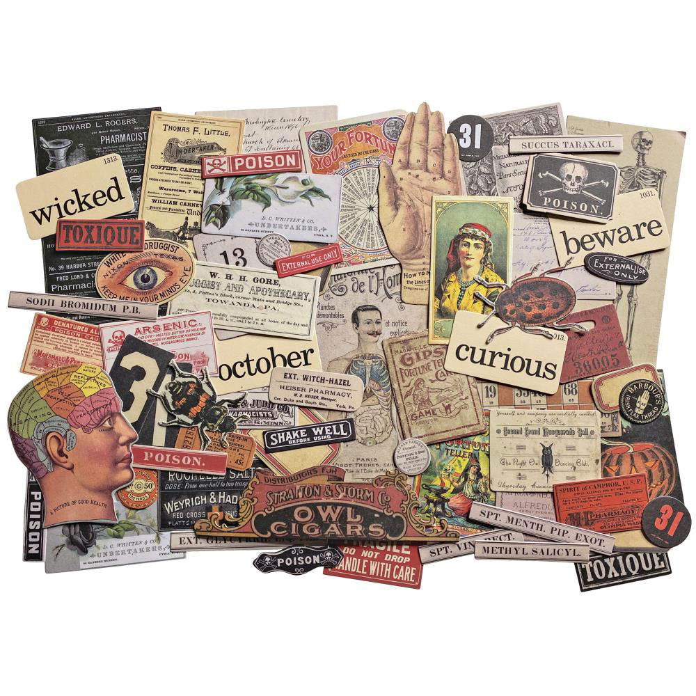Tim Holtz Idea-ology Halloween Ephemera