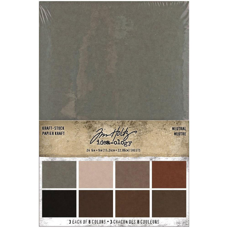 *RESERVE*    Tim Holtz Idea-ology 6x9 Neutral Kraft Stock
