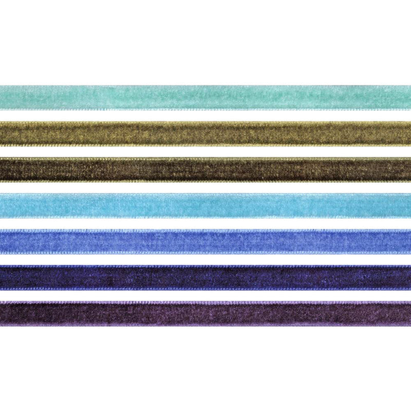 Tim Holtz Idea-ology Cool Velvet Trims