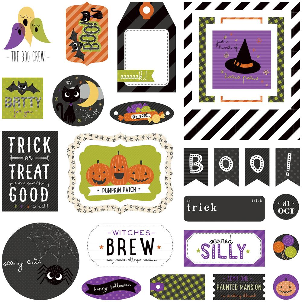 Trick or Treat Ephemera Die-Cuts