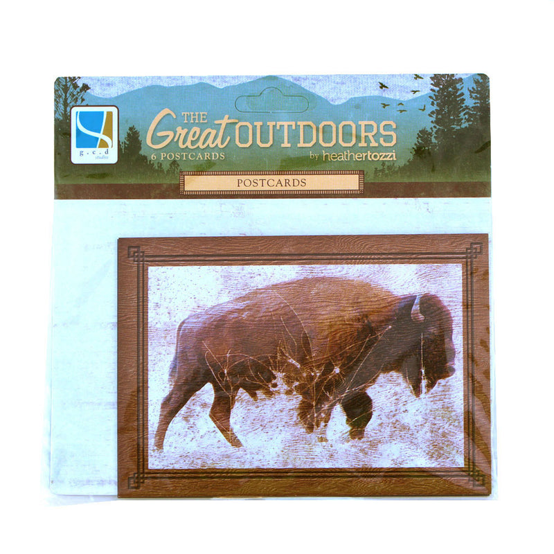 The Great Outdoors postcards