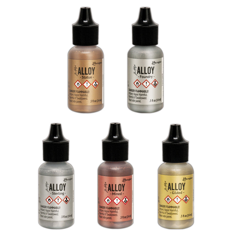 Tim Holtz Alloys  (available in 5 colors)