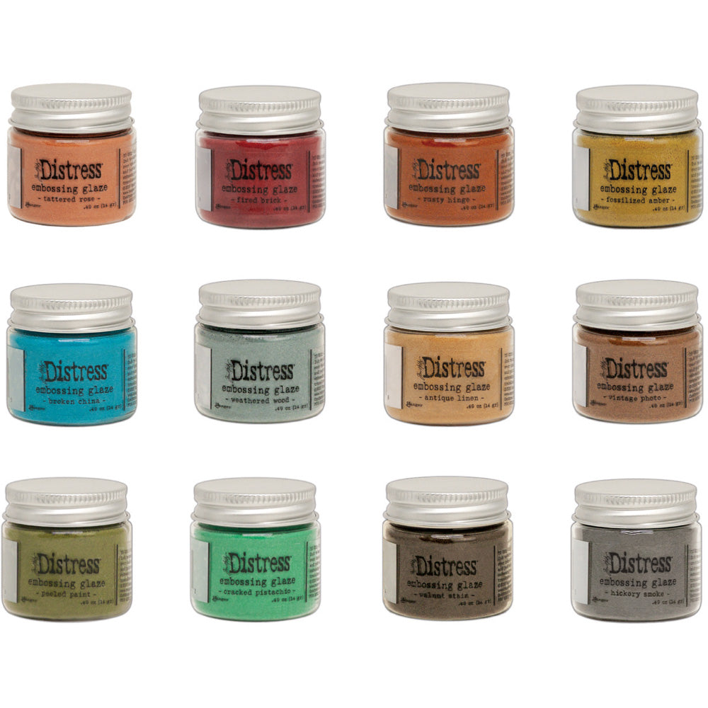 Tim Holtz Distress Embossing Glazes     (available in 12 colors)