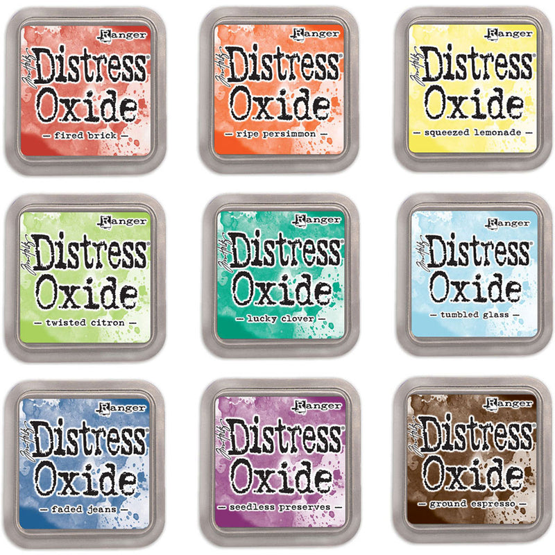 Tim Holtz Distress Oxide Pads  (available in 64 colors)