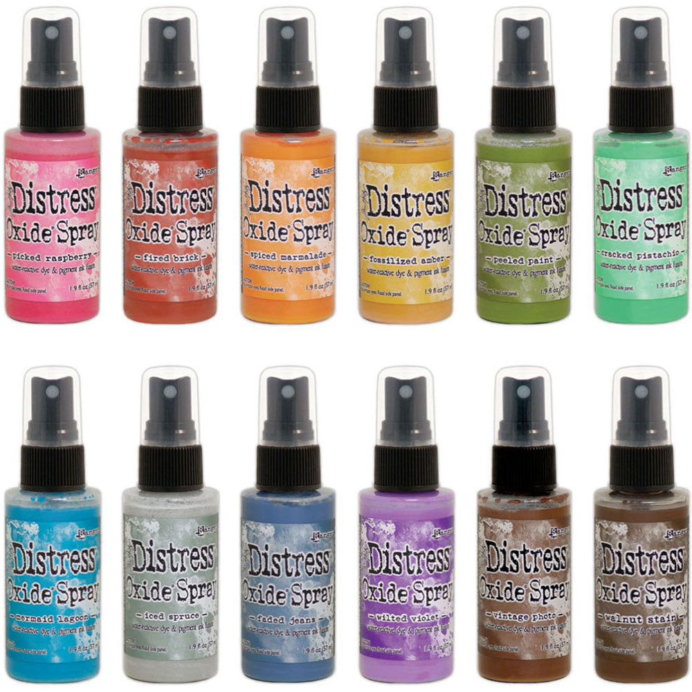 Tim Holtz Distress Oxide Sprays  (available in 65 colors)