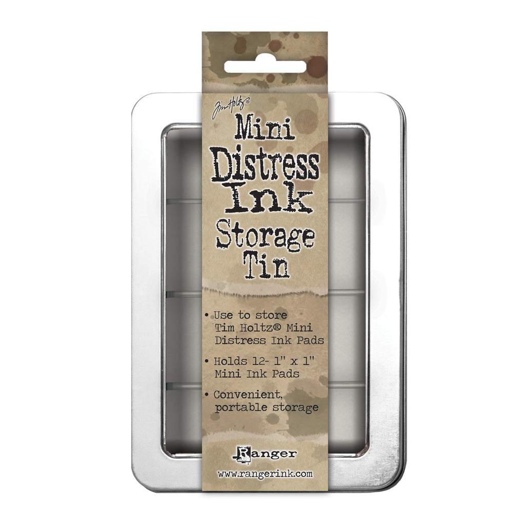 Tim Holtz Mini Distress Ink Pad Storage Tin