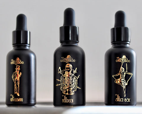 Gentlemen's Chuckaboo Beard Oil Collection
