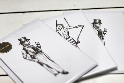 Chuckaboo Original Drawing Collection Prints (A5) - Gentlemen's Chuckaboo