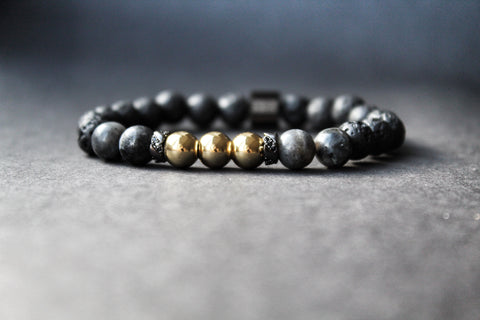Chuckaboo Luxury Beaded Stone Bracelet - Gentlemen's Chuckaboo