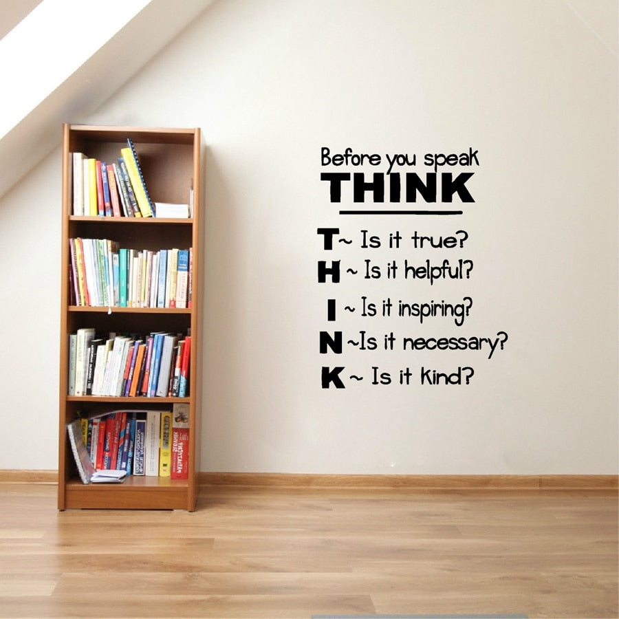 Motivational Quote Vinyl Wall Decals Inspirational Saying Wall Sticker