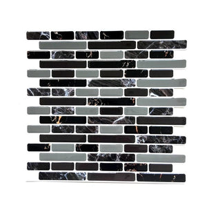 Self Adhesive Mosaic Tile Wall decal Sticker DIY Kitchen