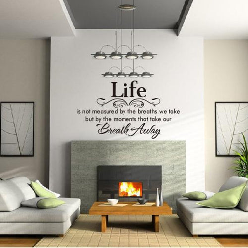 Wall Home Decor Decal Quote Inspirational