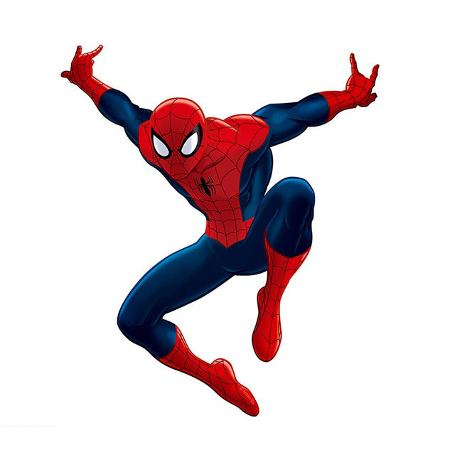 3D Effect Hero Spiderman Wall Stickers For Kids Rooms Nursery Home Decor Cartoon Decorative Wall Decals Pvc Poster Diy Mural Art
