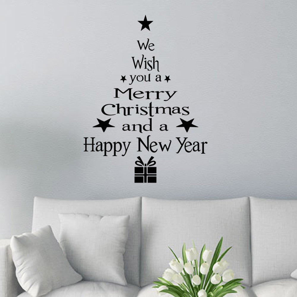 Merry Christmas Decor Christmas Tree Letters
