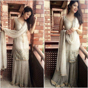Neelum Muneer wearing HEM's design *Royal Spark*