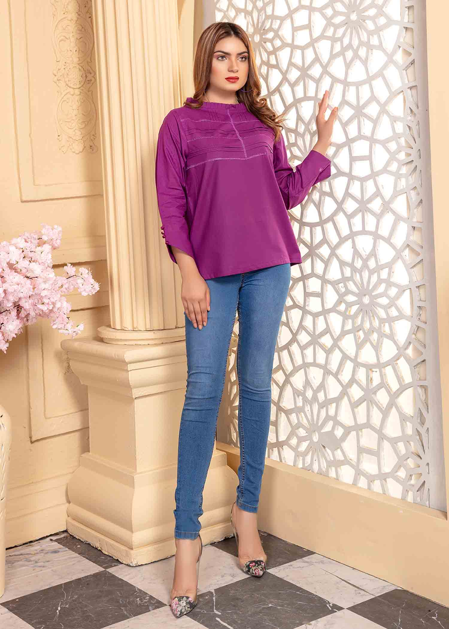 Tiered Top (VOL-01A-3-7B)