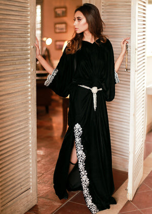 Black Lady Kaftan