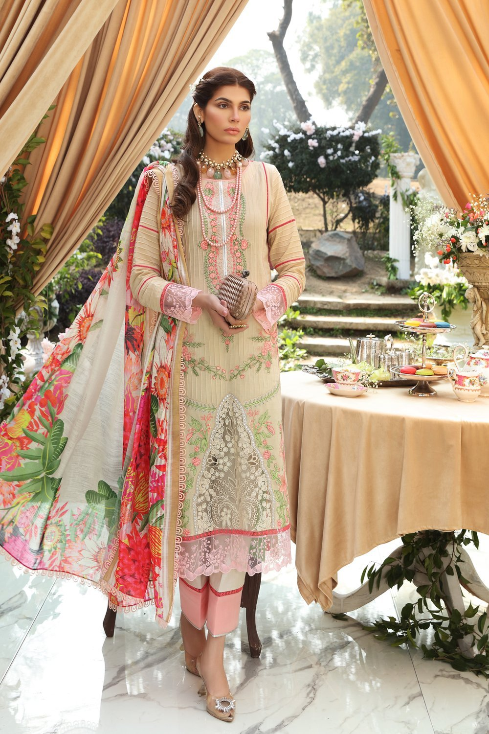 Ittehad Amelia Sl-12 Sable Vogue Lawn