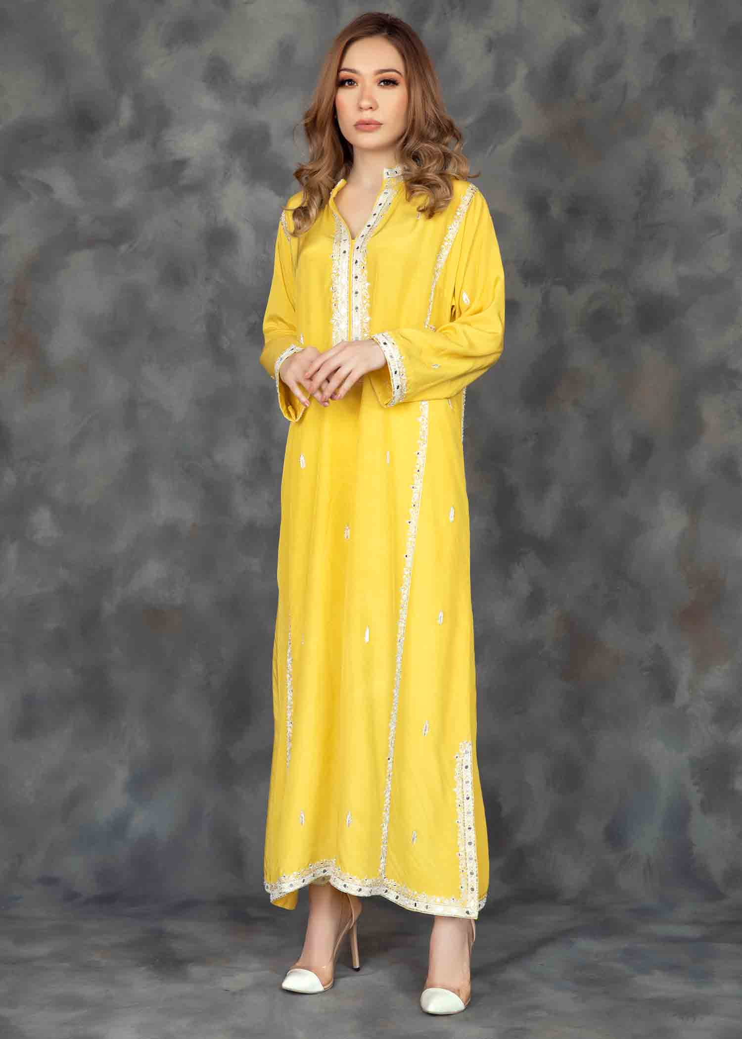 Illuminating Yellow Long kurta