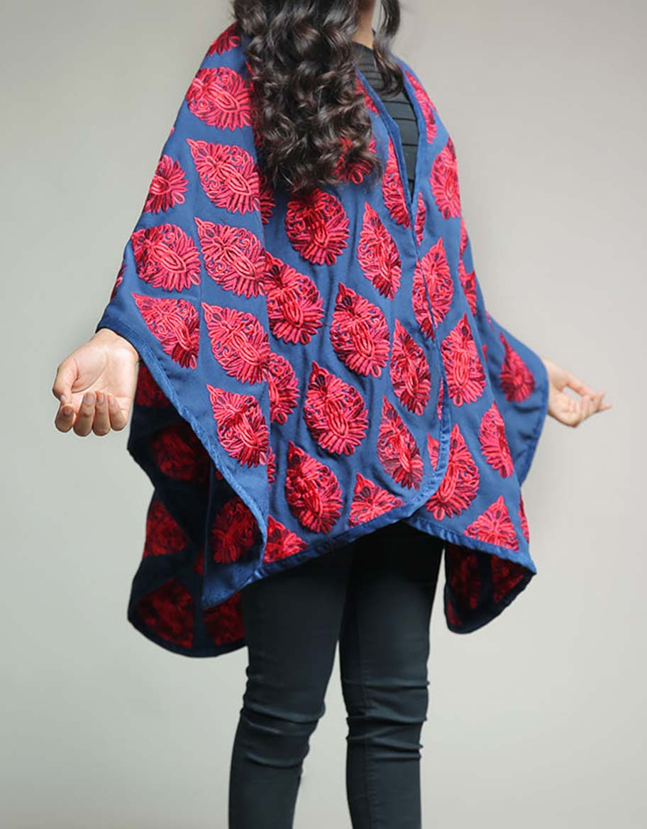 Blue & Red Cape