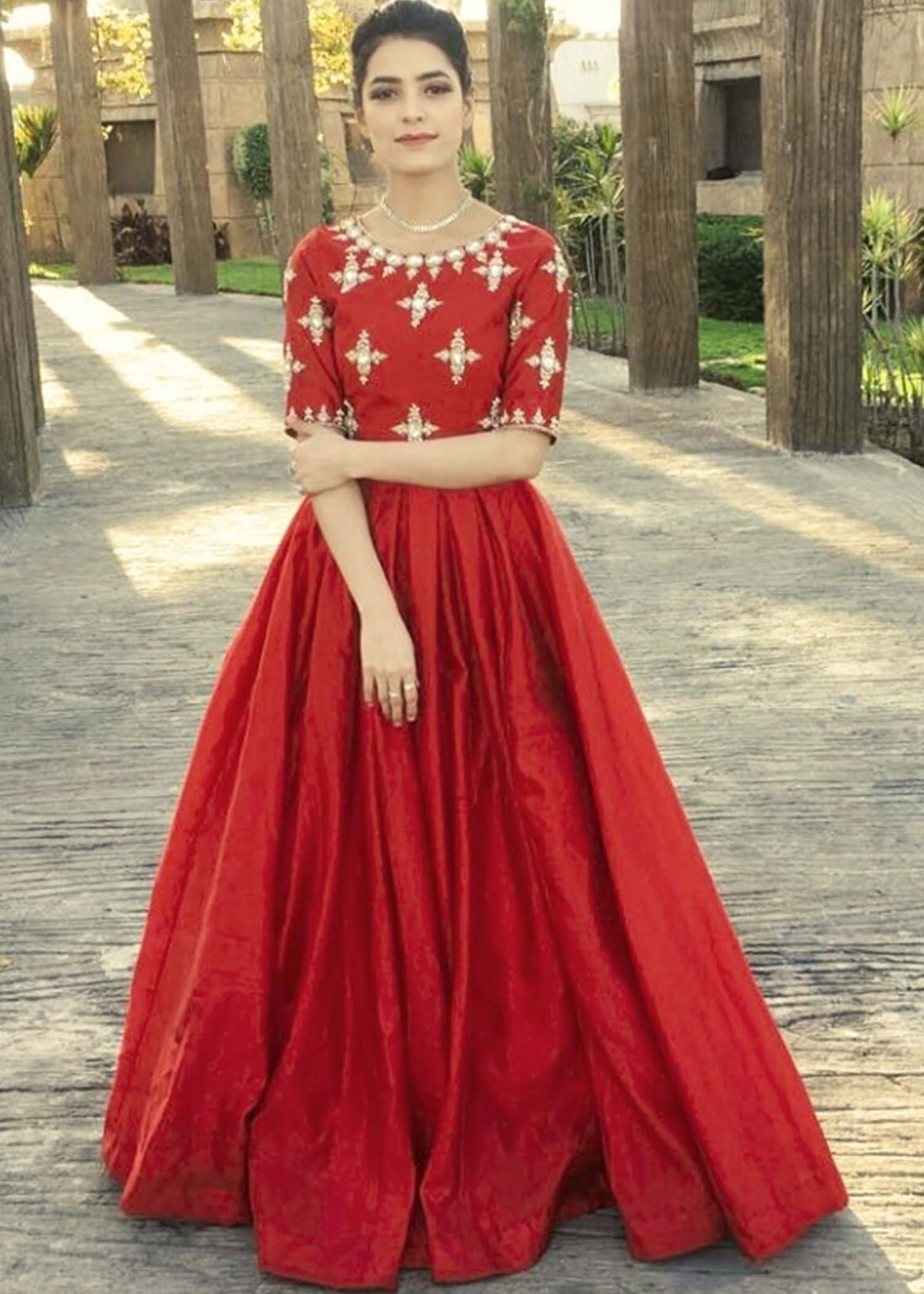 Fresh red lehnga choli