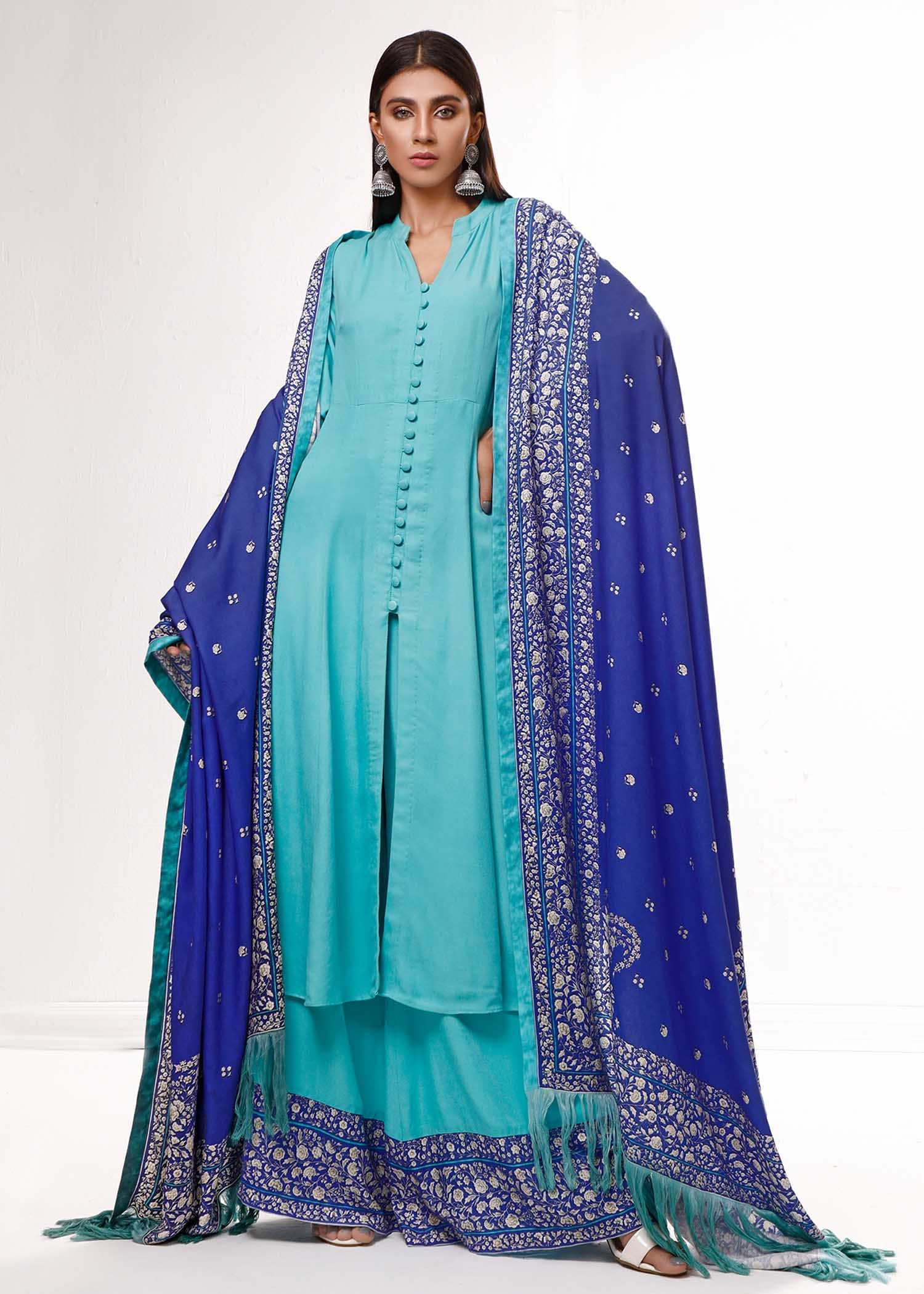 CHARBAGH SHAWL / SUIT