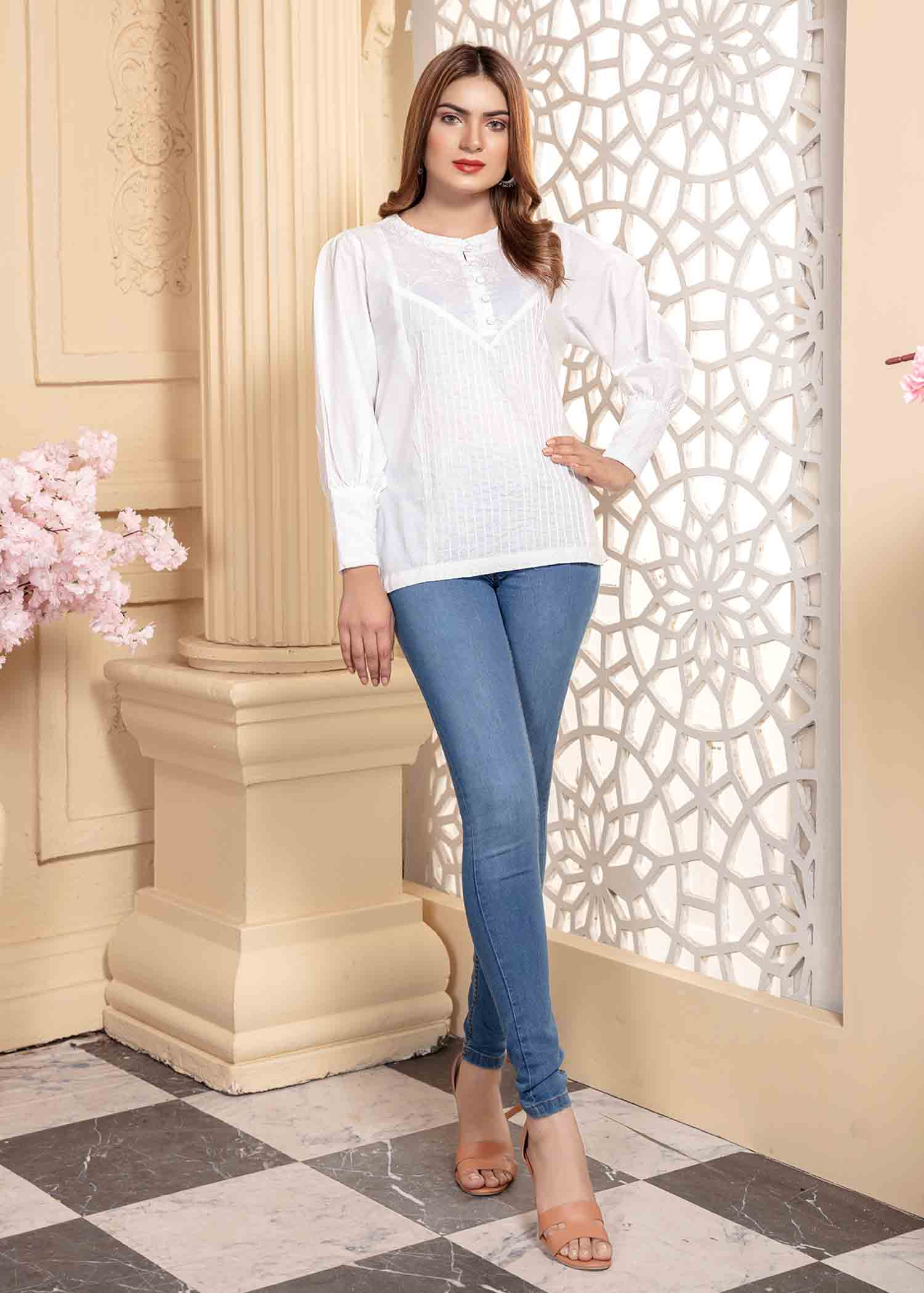 Embroidered Summer Top (VOL-01A-3-4)