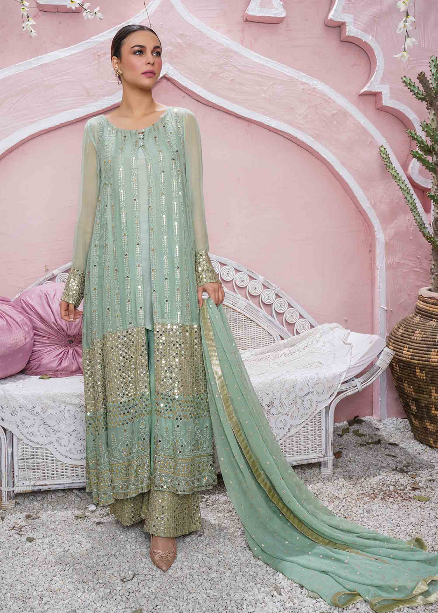 Anchal / Mint Green