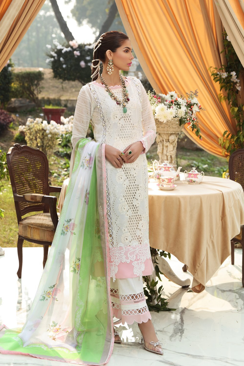 Ittehad Zhalay Sl-11 Sable Vogue Lawn