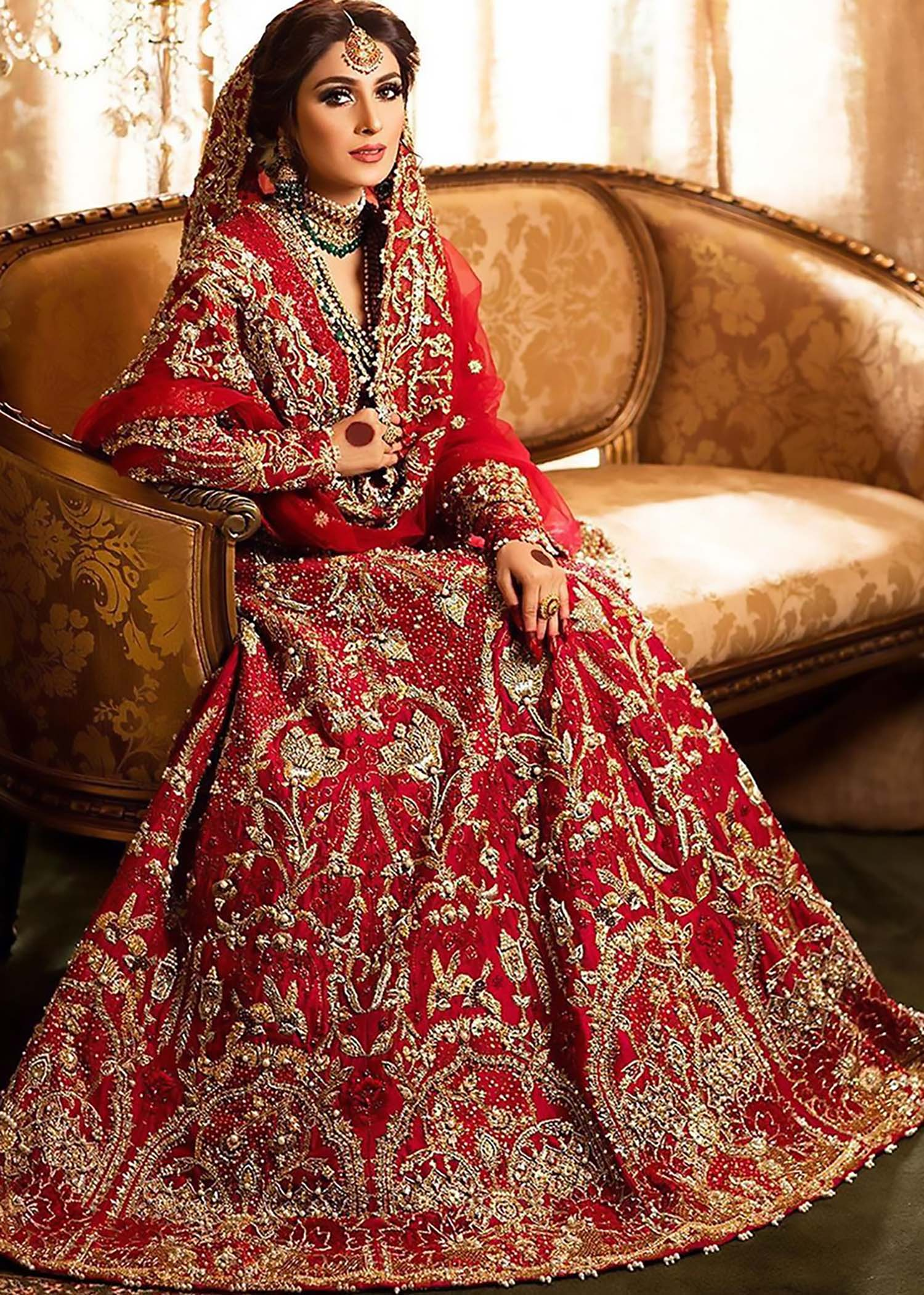 Ayeza Khan - Ali Xeeshan Bridal Collection
