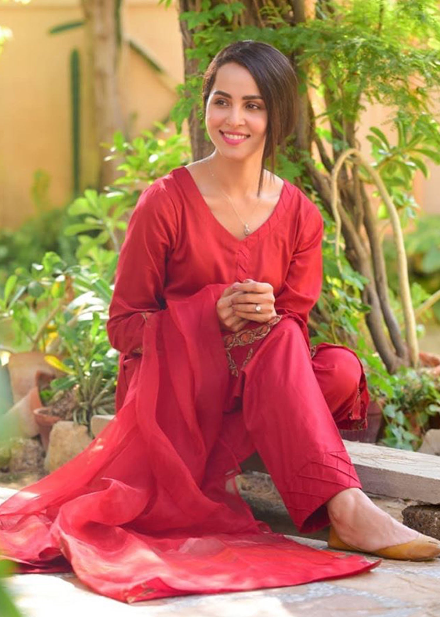 Nimra Khan Tabeer (Red)