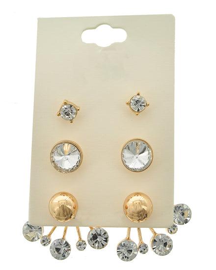 Sleeky Studs Earrings