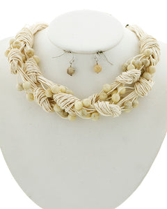 Clustered Statement Necklace