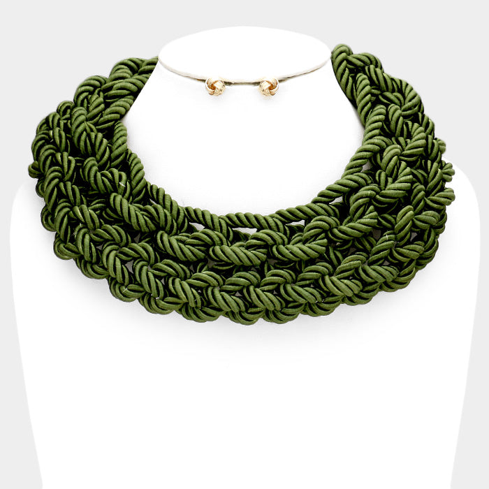 Y Knot Necklace