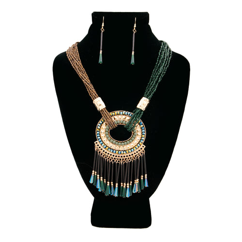 Boho Love Statement Necklace