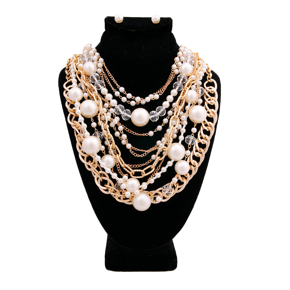 Levels To This Statement Necklace