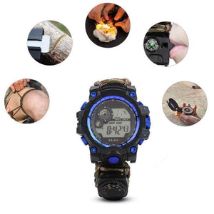 Montre Paracord 7 en 1