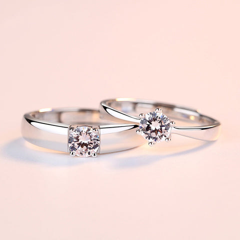 Dora Love Couple Rings (Adjustable) - Loville.co