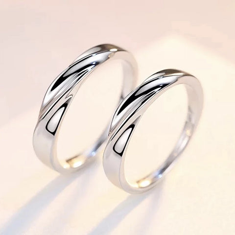Siempre Couple Rings (Adjustable) - Loville.co