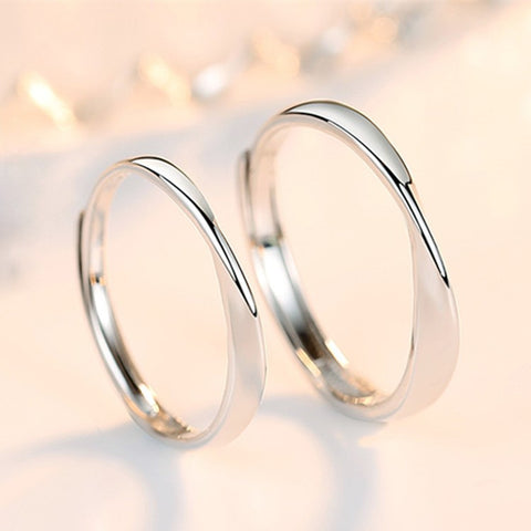 Infinity Couple Rings (Adjustable) - Loville.co