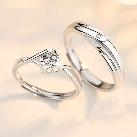 Giselle Couple Rings (Adjustable) - Loville.co