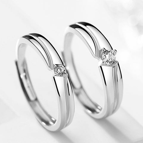 Admiralty Love Couple Rings (Adjustable) - Loville.co