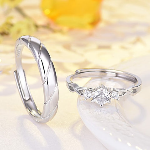 Hyuna Love Couple Rings (Adjustable) - Loville.co