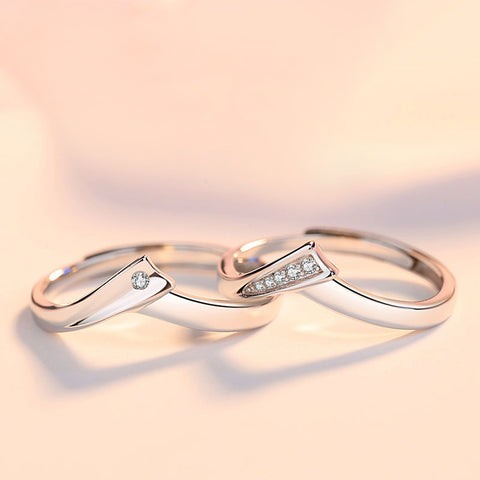 Salvia Love Couple Rings (Adjustable) - Loville.co