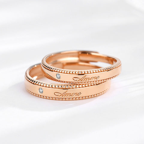 Amore Couple Rings (Adjustable)