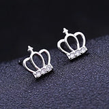 Princess Crown Earrings - Loville.co