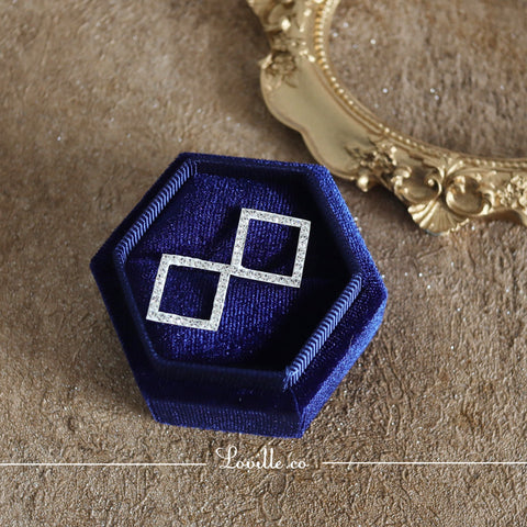 Classic Square Earrings