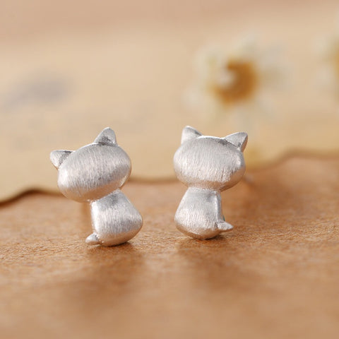 Cat Back Earrings - Loville.co