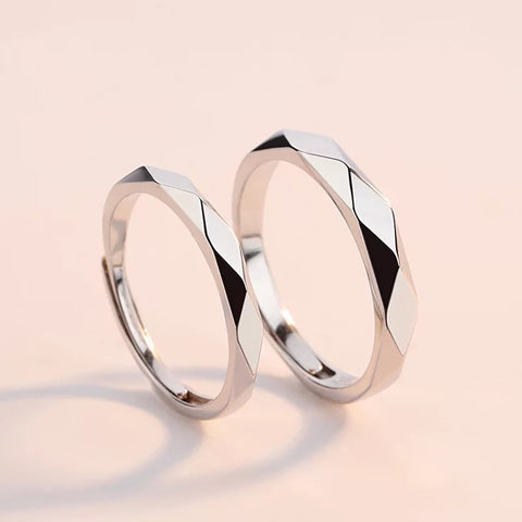 Pansy Love Couple Rings (Adjustable) - Loville.co