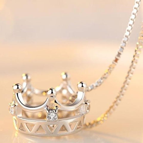 My Crown Lady Necklace - Loville.co